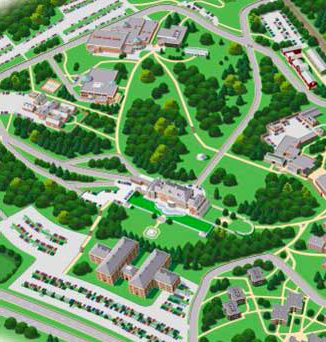 florham campus map